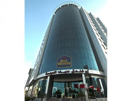 We Have Reserved Rooms At The 4 Star Best Western Hotel In Doha City Centre Al Meena Street 22920 Phone 974 4422 1111 Which Is Within